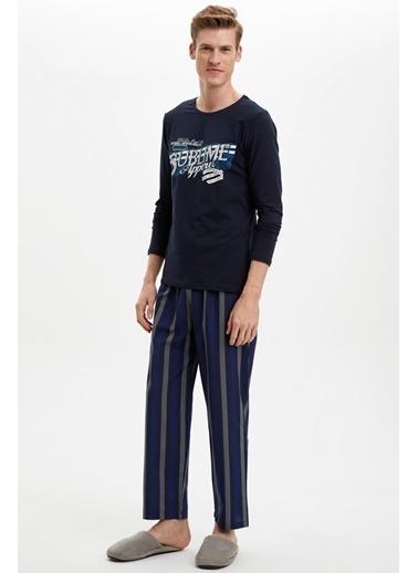Doremi Blue-Eyed Erkek Pijama Takımı Lacivert